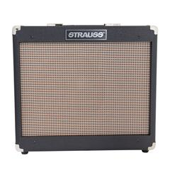 Strauss SVT-15R 15 Watt Valve Combo Amplifier with Reverb (Black)