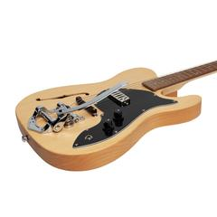 J&D Luthiers 'Pawn Shop' TE Style Electric Guitar (Natural Satin)