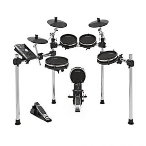 Command Mesh: 5-Pce All Mesh E-Kit with Kick Pedal
