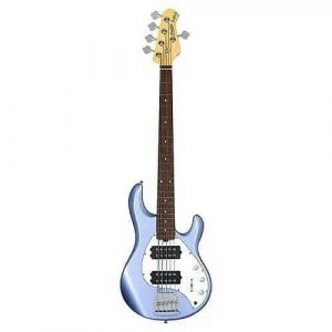 Ernie Ball Music Man Sterling Sub RAY5HH 2020 Lake Blue Metallic