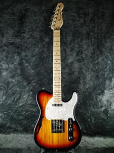 G&L TRIBUTE ASAT CLASSIC HOLLOW 3 TONE SUNBURST MAPLE FRETBOARD