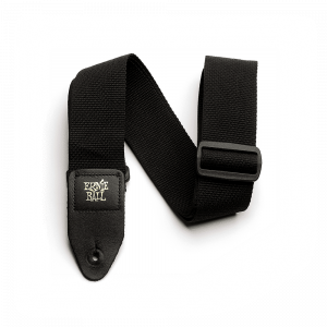Ernie Ball Polypro Guitar Strap, Black