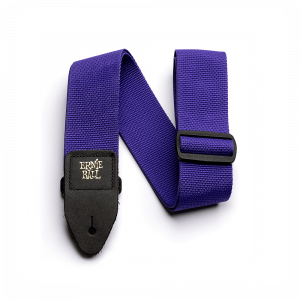 Ernie Ball Purple Polypro Guitar Strap