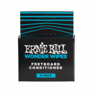 Ernie Ball Wonder Wipes Fretboard Conditioner, 6-Piece