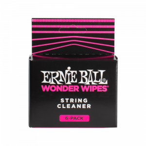Ernie Ball Wonder Wipes String Cleaner, 6-Piece