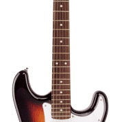 SX SE1SK 4/4 Electric Guitar Package in 3 Tone Sunburst