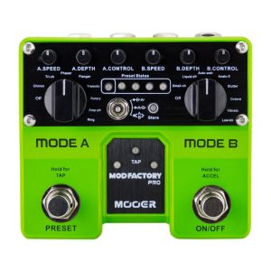 Mooer Mod Factory Pro Modulation Dual Guitar Effects Pedal