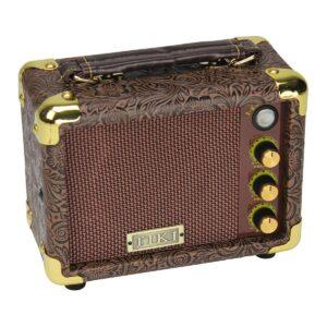Tiki 5 Watt Portable Ukulele Amplifier (Paisley Brown)