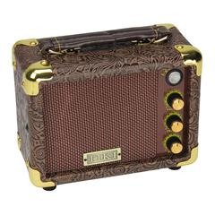 Tiki 5 Watt Portable Ukulele Amplifier (Paisley Brown)