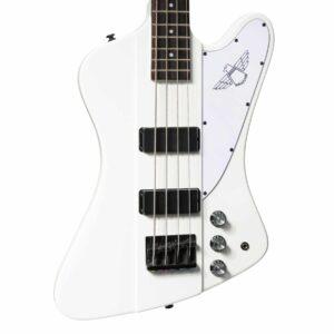 Tokai 'Traditional Series' TB-65 T-Bird Style Bass Guitar (Snow White)
