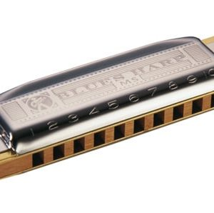 HOHNER NEW BOX BLUES HARP G
