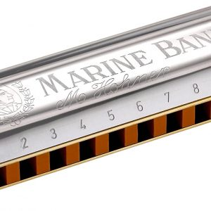 HOHNER MARINE BAND HARP KEY B