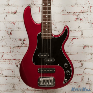 G&L SB-2 LEFT-HAND BASS SPARKLE RED