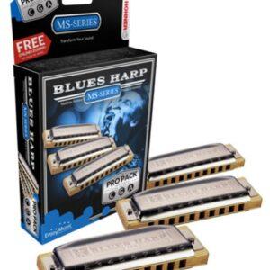HOHNER BOX-3 BLUES HARP C,G,A