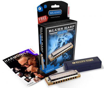 HOHNER NEW BOX BLUE HARP Gb/F#