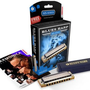HOHNER NEW BOX BLUES HARP F