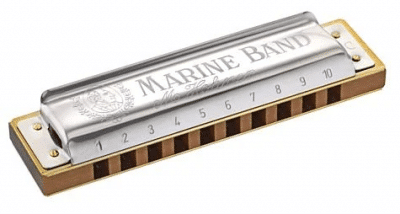 HOHNER NEW BOX MARINE BAND Db