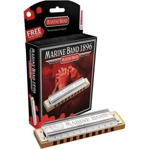 HOHNER NEW BOX MARINE BAND F