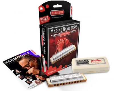 HOHNER NEW BOX MARINE BAND D