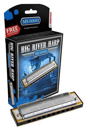 HOHNER BIG RIVER HARP KEY D