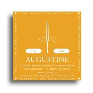 Augustine Classic Gold Strings - Regular Tension Trebles / Medium Tension Basses