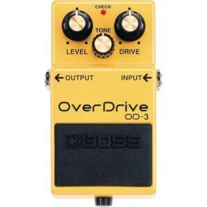 boss overdrive pedal