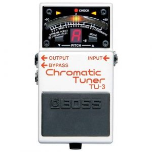 BOSS TU 3 Chromatic Tuner