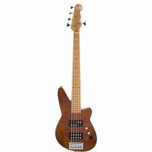Reverend-Mercalli-5-FM-5-string-bass-in-Violin-Brown-Flame-Maple